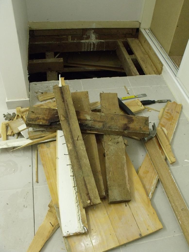 No more plinth or trapdoor