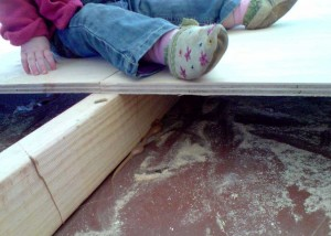 Secured subfloor